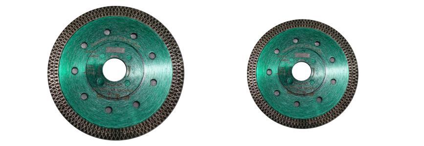 Diamantový kotouč pro úhlové brusky (průměr 125mm) EXTRATENKÝ - tvrdá slinutá keramická dlažba