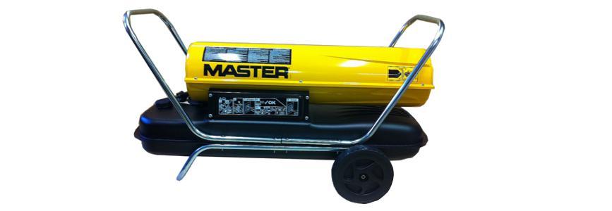 Naftové topidlo s přímým spalováním Master B230